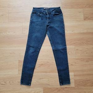 Levi's 535 Legging Dark Wash Skinny Jeans